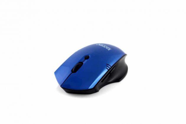BTO wireless optische Gaming muis (HM8123), zwart/blauw, retail