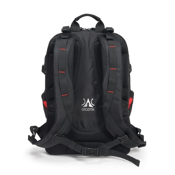 Dicota E-Sports Backpack, zwart 15 t/m 17.3 inch D31156