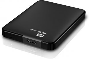 WD Elements Portable, 2 TB externe Harde schijf