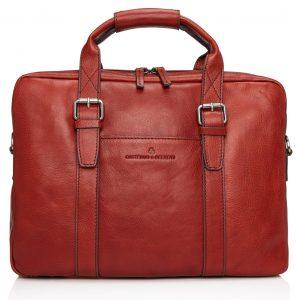 Castelijn & Beerens Bravo laptoptas, rood (639484 RO)