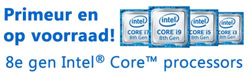 8e generatie Intel Core H processors Coffee Lake