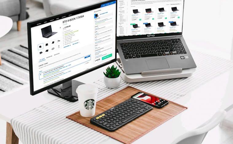 Zakelijke laptop samenstellen met docking