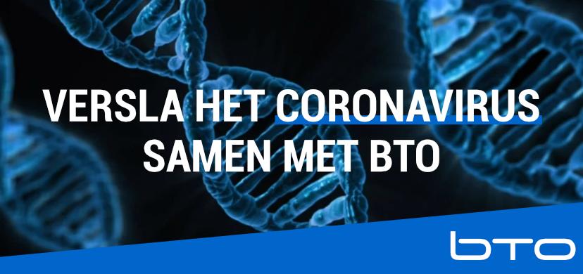 Versla het Coronavirus samen met BTO